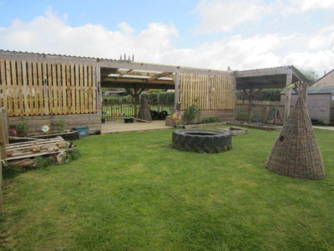 Lewannick School Outdoor Classroom and Garden