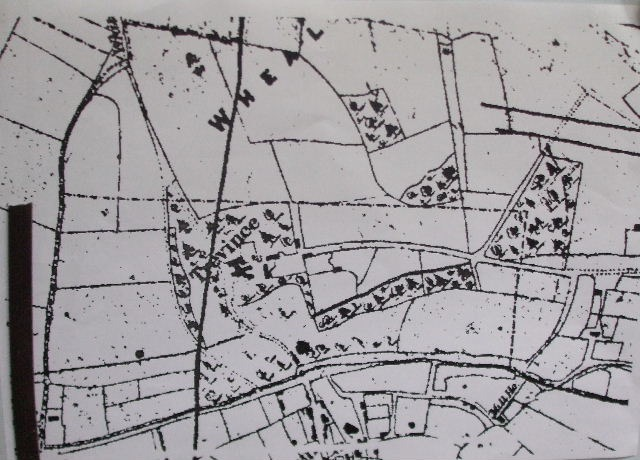 1843 tithe map of Trevince