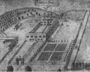Lanhydrock House and gardens, c.1695