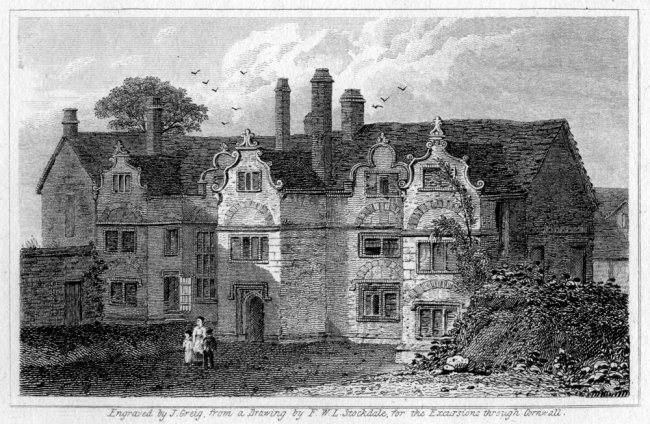 Engraved by J Grieg, from a Drawing by FWL Stockdale 1824