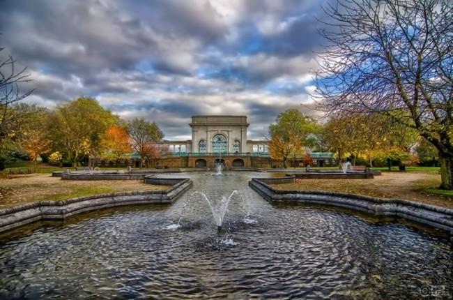 Nottingham Embankment Memorial Gardens